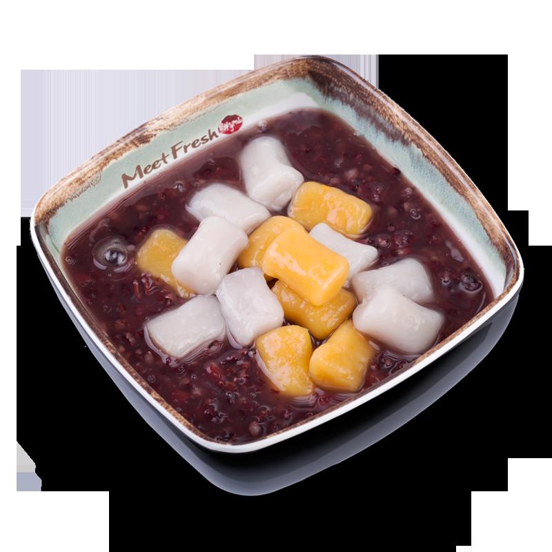 芋圆紫米粥-紫米粥系列