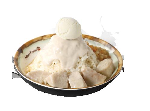 雪山双芋牛奶冰-清凉冰品